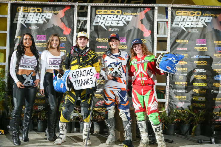 ENDUROCROSS USA EVERETT, WA. SANDRA VUELVE A CONSEGUIRLO. TERCERA (English versión below)